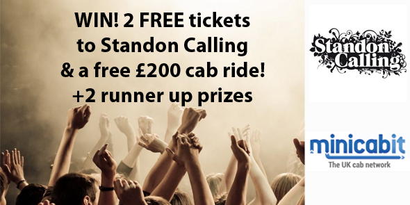 Win tickets to Standon Calling with minicabit